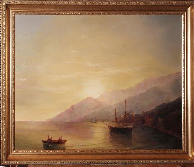 Копия картины Айвазовского
